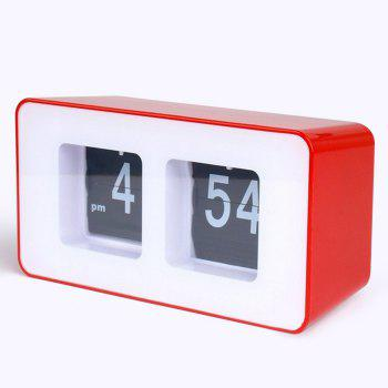 Retro Number Flip Desk Clock