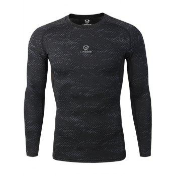 Raglan Sleeve Crew Neck Gym T-Shirt