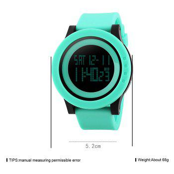 SKMEI Luminous Digital Sports Watch - GREEN