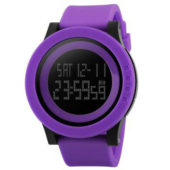 SKMEI Luminous Digital Sports Watch -  PURPLE