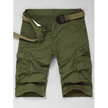 Belt Loop Cargo Shorts