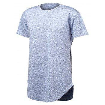 Short Sleeve Stretchy Tall T-Shirt