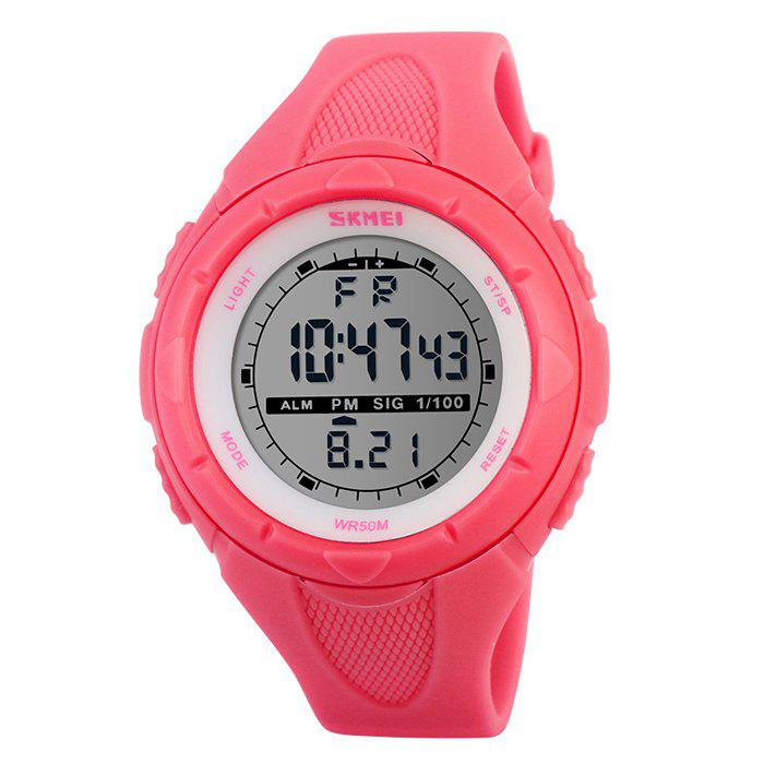 SKMEI Outdoor Alarm Digital Sports Watch - RED
