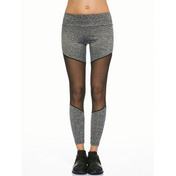 Mesh Insert Running Leggings