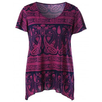 Paisley and Floral T-Shirt