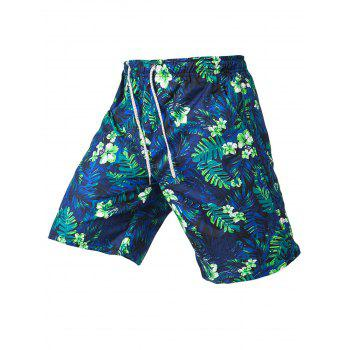 Flower Beach Shorts