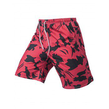 Printed Quik Dry Beach Shorts