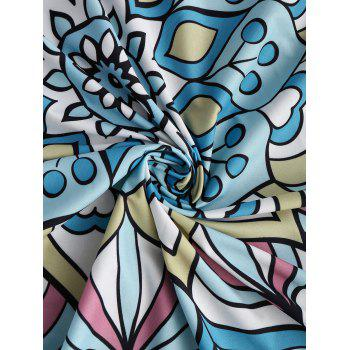 Patterned Summer Beach Throw - COLORMIX ONE SIZE