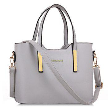 Stunning Metallic and Solid Color Design Tote Bag For Women