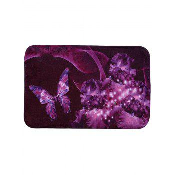 Mew Butterfly Soft Absorbent Area Rug