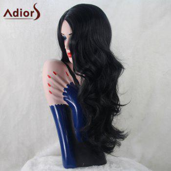 Adiors Long Middle Part Wavy Synthetic Wig
