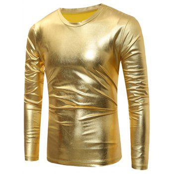 Metallic Long Sleeve T-Shirt