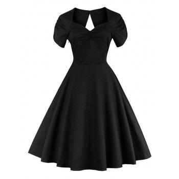 Vintage Hollow Out Pin Up Dress