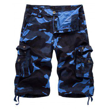 Camo multi poches Cargo Shorts