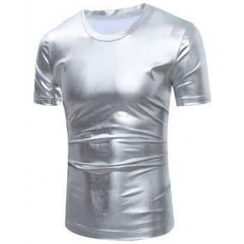 Metallic Short Sleeve T-Shirt