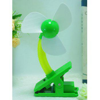 Portable Summer Big Wind USB Rechargeable Mini Clip Fan