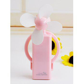 Buy Portable USB Rechargeable Summer Mini Handheld Fan PINK
