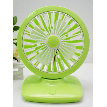 Office Adjustable Wind Speed USB Rotate Ninety Degrees Mini Desk Fan