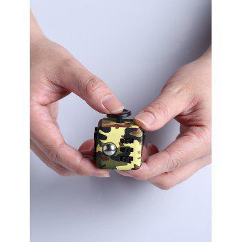 Anti Stress Camouflage Finger Cube Toy