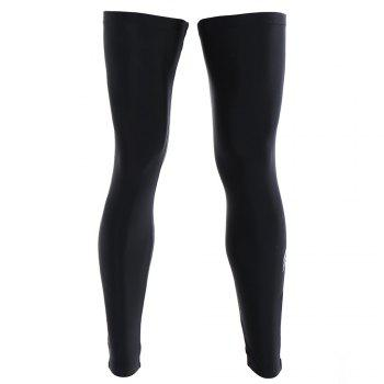 Reflective Zipper Cycling Leg Sleeves - 3XL 3XL