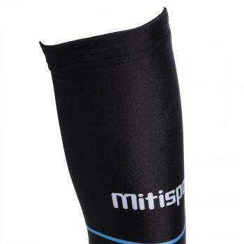 Striped Letter Cycling Arm Sleeves - L L