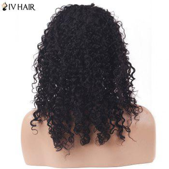 Siv Hair Shaggy Deep Curly Long Lace Front Human Hair Wig - NATURAL COLOR NATURAL COLOR