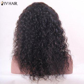 Siv Hair Long Deep Wave Hairstyle Shaggy Lace Front Human Hair Wig - 18INCH 18INCH