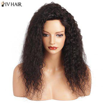 Siv Hair Long Lace Front Deep Wave Human Hair Wig - NATURAL COLOR 18INCH