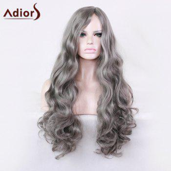 Adiors Long Wavy Side Parting Harajuku Cosplay Synthetic Wig