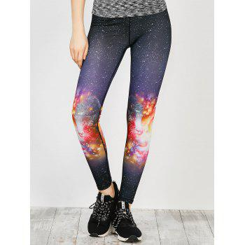 Light Galaxy Running Leggings