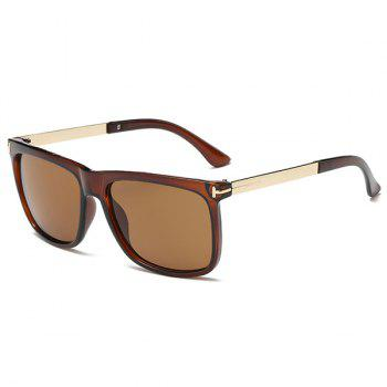 Anti UV Rectangle Frame Sunglasses