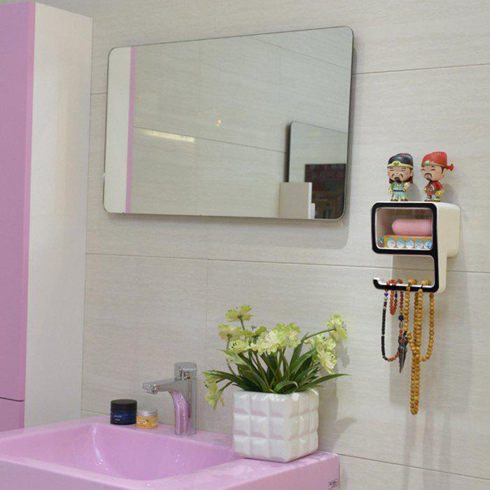 Creative Number Shape Bath Wall Shelf