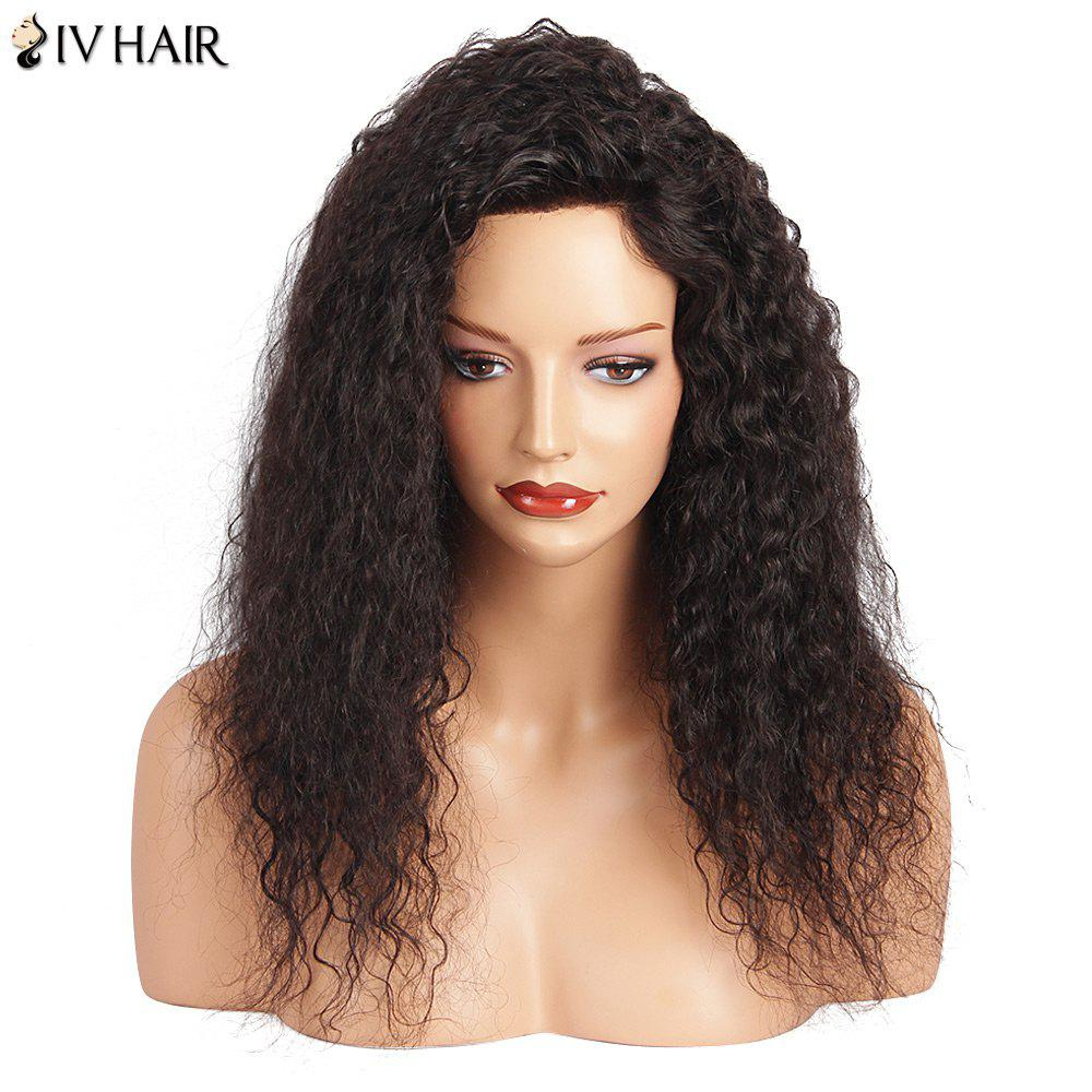 Siv Hair Long Lace Front Deep Wave Human Hair Wig human hair glueless wigs brazilian wave front wig grace 130