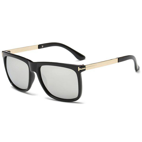 Sunproof Rectangle Frame Ombre Sunglasses metal frame rectangle ombre affordable polarized sunglasses