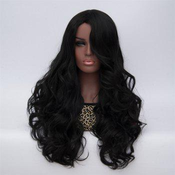 Adiors Curly Long Side Bang High Temperature Fiber Wig