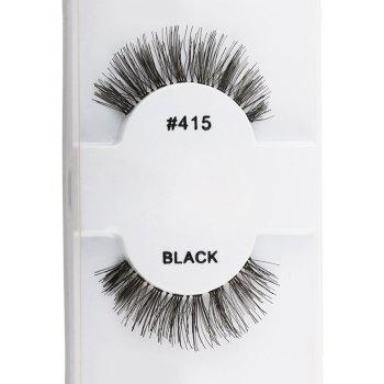 1 Pair Natural False Eyelashes
