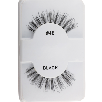 Natural Lengthening False Eyelashes -  BLACK