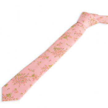Floral Blossom Printing Neck Tie