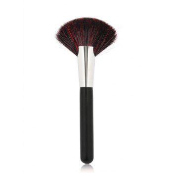 Cosmetic Goat Hair Fan Brush