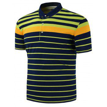 Slim Stripe Polo Shirt