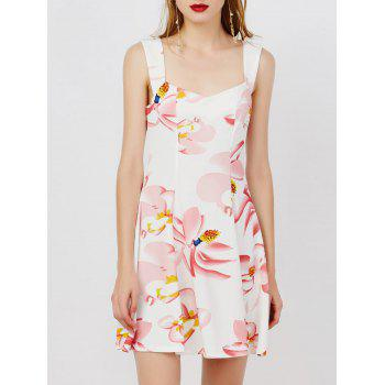 Fit and Flare Short Floral Dress