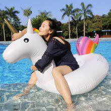 Inflatable PVC Unicorn Floating Row
