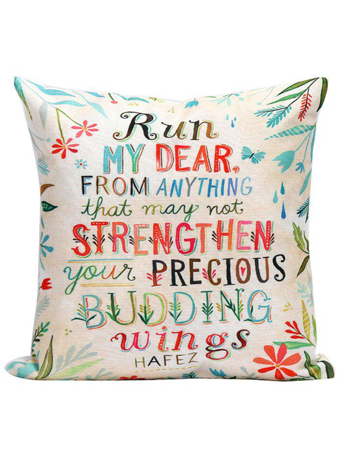 Hafez Famous Quotes Linen Decal Pillowcase nordic modern wood glass pendant lights simple art coffee restaurant hanging lamp living bedroom pendant lamp for home lighting