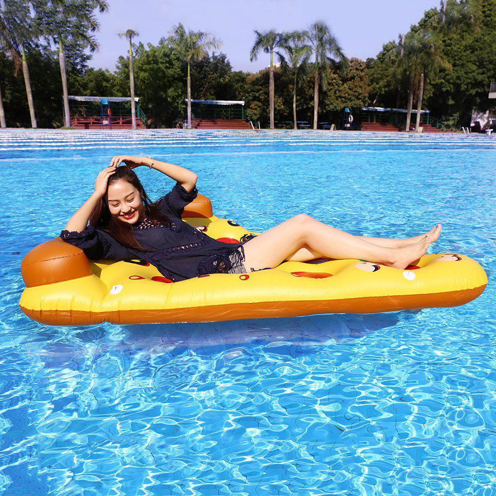 Pizza Inflatable Swimming Float - MANDARIN