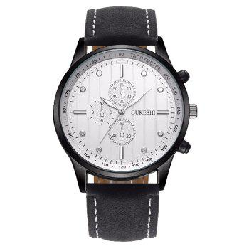 OUKESHI Tachymeter Quartz Watch