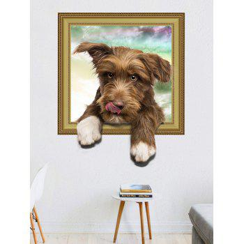 Children Room 3D Cute Doggy Wall Sticker