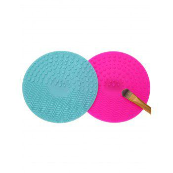 2 Pcs Makeup Brush Cleaning Pads
