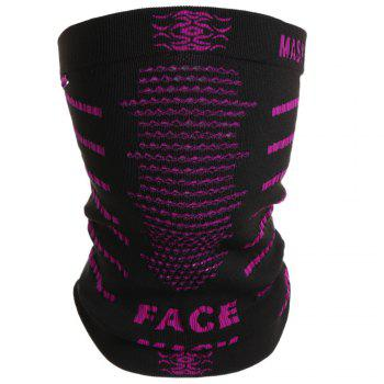 Multifunction Windproof Outdoor Cycling Face Mask - BLACK AND PINK BLACK/PINK