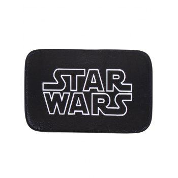 Soft Absorbent Letter Star Wars Bath Rug