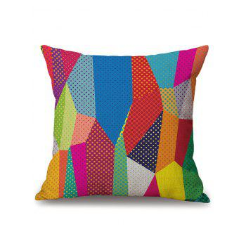 Colorful Geometry Cushion Pillow Case Cover